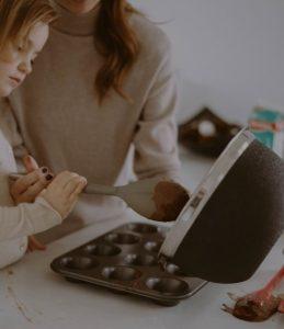 cuisiner avec ses enfants quand on est mumpreneure