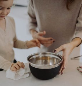 cuisiner quand on est mumpreneure